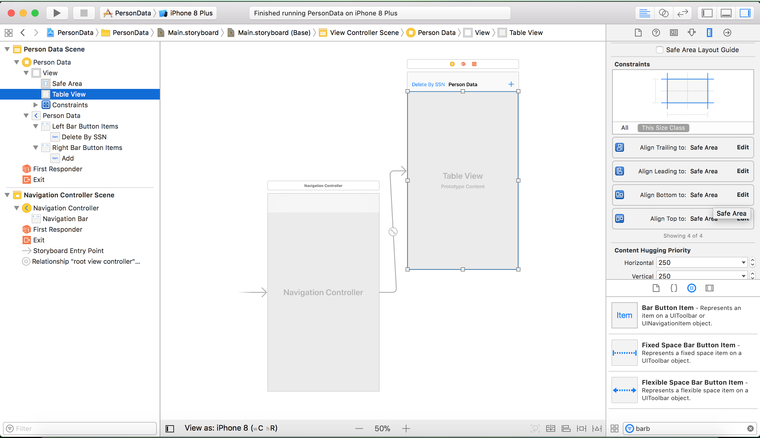 Swift - 4 - Core Data - Part 2 Creating a simple app - Learn
